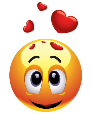 emoticon in love